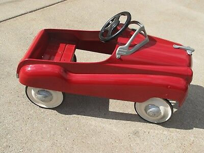 Vintage Murray Champion Red Pedal Car 1950S