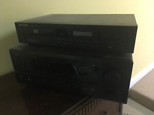 receiver and cd player