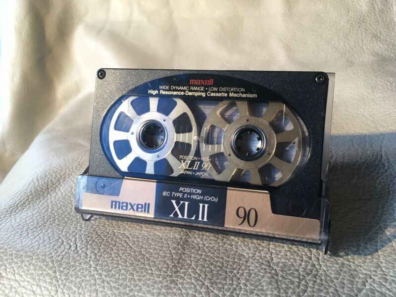 Used Custom Made Reel To Reel Maxell XLII Audio Cassette