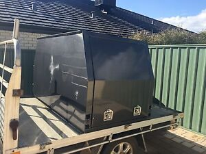 Tray back ute half canopy 4x4 c&ing fishing working & tray back ute canopy for sale in Geraldton Region WA | Cars ...