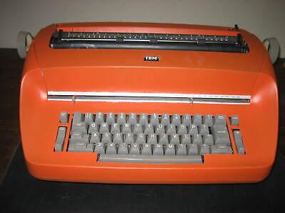 Refurbished Ibm Selectric I Typewriter - Bronco Orange Custom Paint Wwarranty