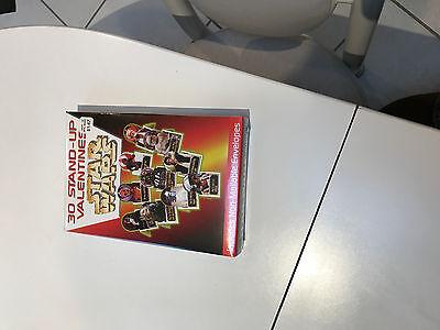 Star Wars Valentine Box (1997 STAR WARS VALENTINES, MINT IN A MINT BOX, UNOPENED,  SPECTACULAR)