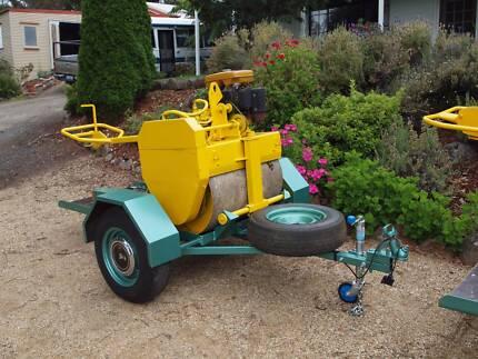Pedestrian vib roller on trailer Taranna Tasman Area Preview