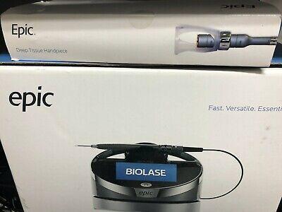 Soft Tissue 10 Watt Biolase Epic X Dental Laser With Surgical Accessories