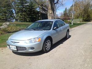 CERTIFIED 113,267 kms, Remote Start 2003 Chrysler Sebring Sedan