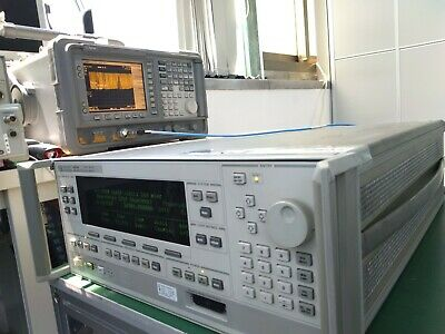 Hp 83630a 8360 Series Synthesized Sweeper 10mhz To 26.5ghz W Ocxo 004 008