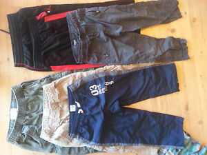 boys clothing lot size 5&6 with boots