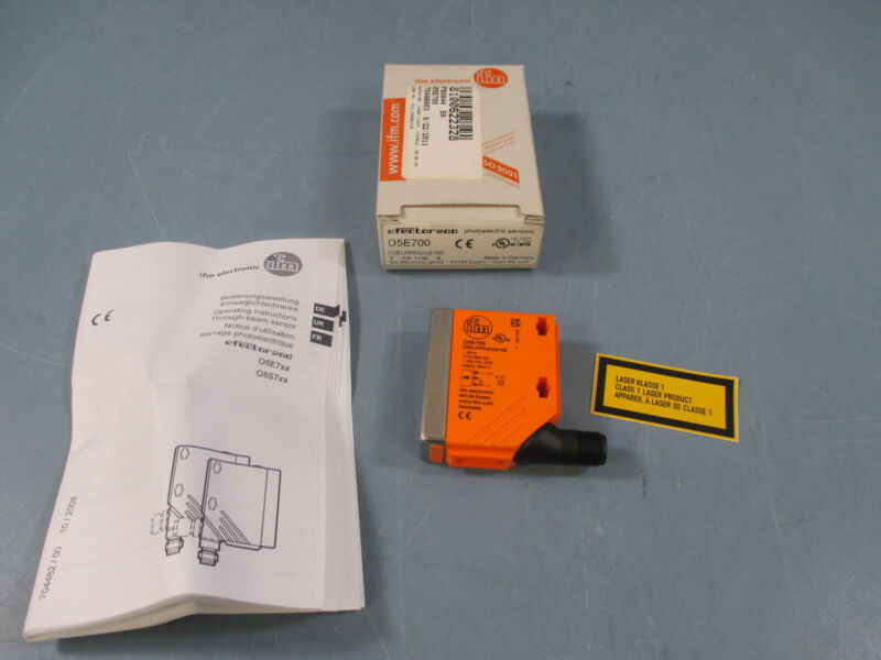 IFM Efector200 O5E700 Photoelectric Sensor - New