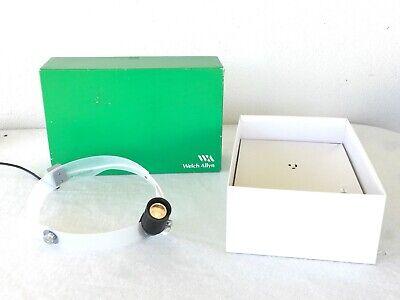 Welch Allyn 6v Direct-focus Headlight W Power Supply Box Extra Bulb