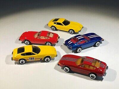 Hot Wheels Ferraru 365 GTB/4 Lot of 5 Loose HW Garage Ferrari