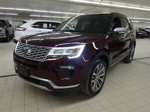 Ford Explorer Platinum 4WD Sièges massage - Park assist 2017