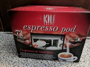 Espresso pods for coffee maker