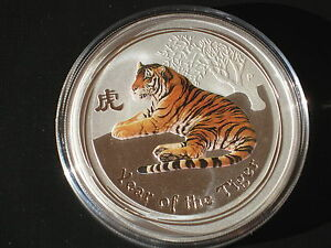 1 Oz Tiger Lunar Ebay