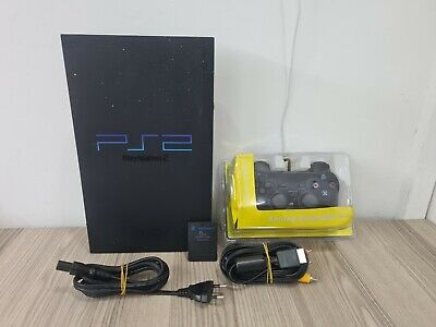 PS2 FAT - SONY PLAY STATION 2 FAT PS2 CONSOLE SLIM + PAD + MEMORY CARD E ALTRO
