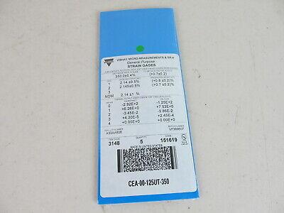 Vishay Micro Measurements Precision Strain Gage Cea-00-125ut-350 5 Pack