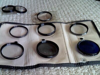 VINTAGE Lot of 10! SPIRALITE/TONE JAPAN CAMERA lenses FILTERS w NIKON CA1 Holder for sale  Hallandale
