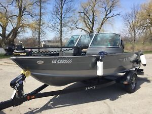 2014 LUND Impact Boat, Motor & Trailer
