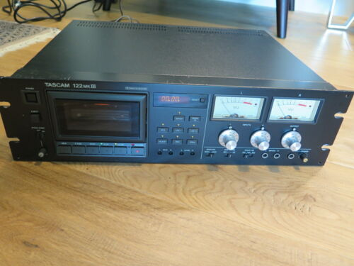 Tascam 122 MKIII  3 Head Professional Cassette Deck Tape Player
