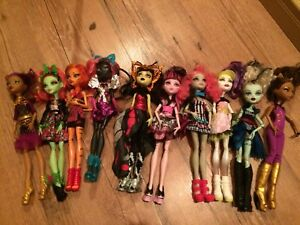 Je vends mes monsters high