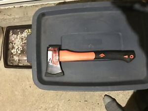 brand new hunting hatchet