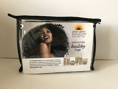 Jane Carter Solution Healthy Hair Line Hair Care Essential Travel Kit 6 pcs NEW