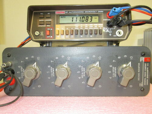 Precision Decade Resistor 10 -111,110 Ohm 0.1% Accuracy TESTED! GR 1432-L