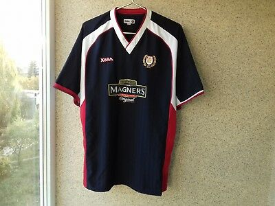 Dundee Home football shirt 2004/2005 Jersey L Xara Soocer Scotland 100 years  image