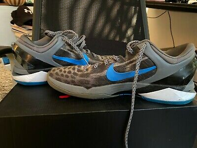 Nike Kobe Zoom 7 VII ' Grey Cheetah' UK 9.5 EU 44.5