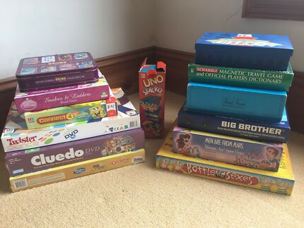 12 x new and used board games - $50 the lot!