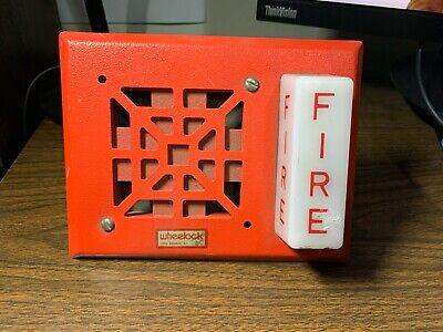 New Vintage Wheelock V7001-24 Fire Alarm Hornstrobe