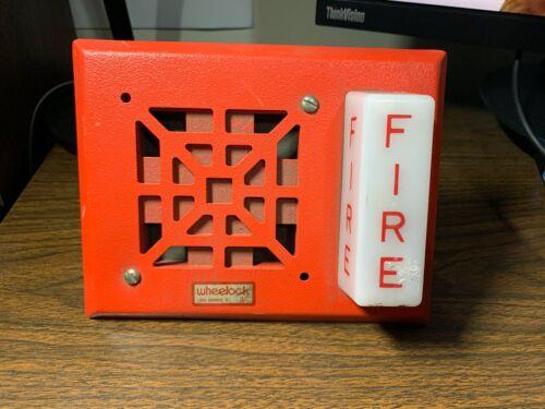 *New* *Vintage* Wheelock V7001-24 Fire Alarm Horn/Strobe