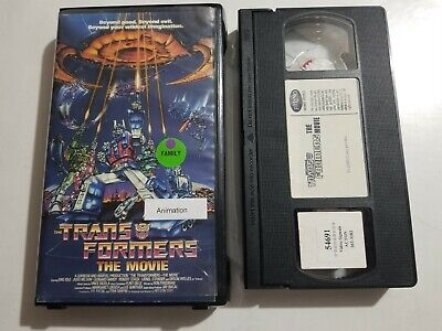 TRANSFORMERS THE MOVIE VHS TAPE ANIMATED MOVIE 1999 RHINO HOME ENTERTAINMENT