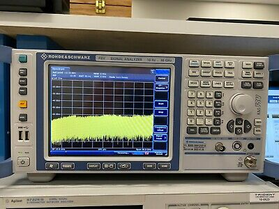 Rohde Schwarz Fsv30 10 Hz - 30 Ghz Signalspectrum Analyzer - Calibrated