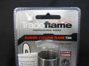TRADE FLAME CYCLONE BURNER 25MM - BRAND NEW Campbelltown Campbelltown Area Preview