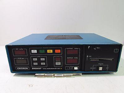 Critikon Model 8270 Dinamap Vital Signs Monitor 120v 60hz 1.5a Xlnt