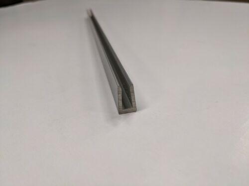 """Aluminum Channel, panel stiffener, 80/20 # 2424, 15-3/4"""" long, 6 pieces"""