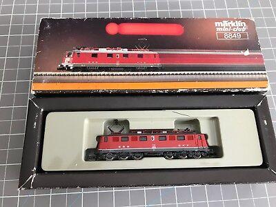 Marklin 8849 Z Scale Swiss Sbb Re 6 6 Locomotive