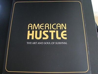 American Hustle Pressbook book  OSCAR AD Jennifer Lawrence Christian Bale SALE