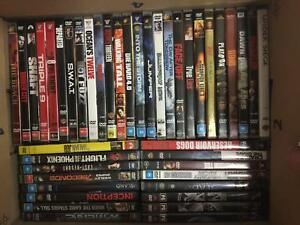 Mixed box of action/adventure dvds Manly Manly Area Preview