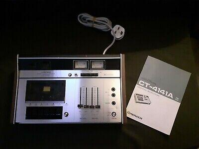 Usado, PIONEER CASSETTE PLAYER RECORDER MODEL CT4141A segunda mano  Embacar hacia Mexico