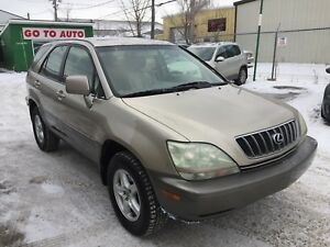 2002 Lexus RX 300 AWD SUV - Low kms!! Mint condition