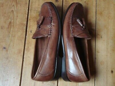JOHNSTON & MURPHY mens shoes VGC worn once RRP £175 size US11 UK10 brown