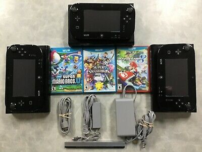 Wii U Console with game