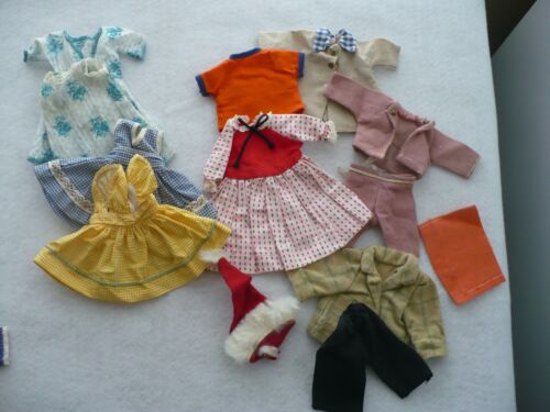 "Doll clothes found with Muffie style doll & Revlon 10 1/2"" Doll TLC"