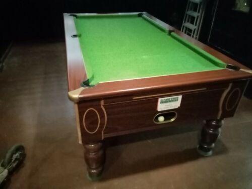 Pub pool tables used