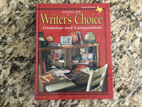 New Glencoe Writers Choice Grammar and Composition Texas Edition Textbook Grade