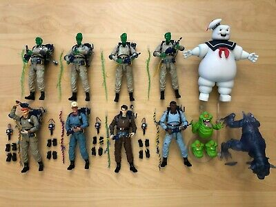 The Real Ghostbusters Diamond Select Complete Set EGON - Ghostbuster Slimer