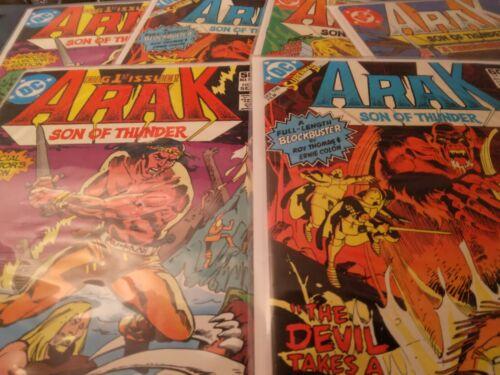 Arak, Son of Thunder- DC Comics 1981 SELECT YOUR ISSUE! NICE GRADES! BARGAIN!