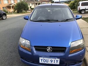 Pending HOLDEN 2007 Barina automatic low klm