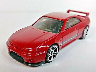 Hot Wheels Nissan Skyline GT-R (BCNR33) R33 #6/250 Red Nissan Series 1/64 Loose